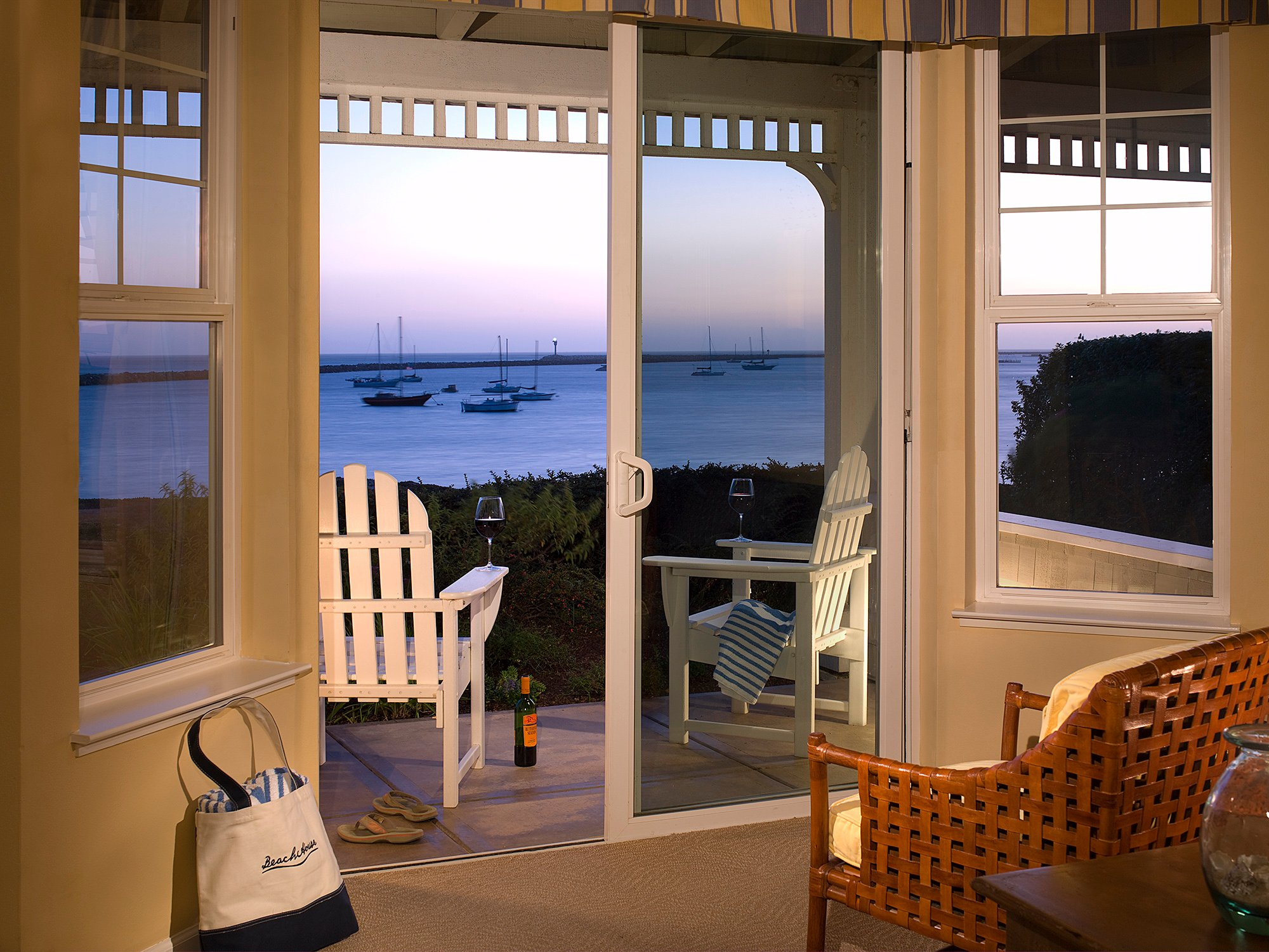 Luxury Hotel Half Moon Bay Beach House Accommodations
